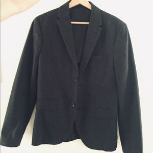 H&M Jackets & Coats - H&M Slim fit Suit Jacket in woven fabric - Small